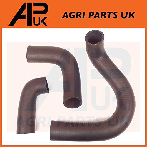 APUK Radiator Water Hose Kit Set Inlet Bottom Top compatible with Fordson Major Power & Super Tractor: