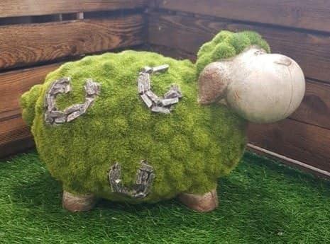 Nueva vaca Animal con efecto de piedra adorno de jardín decoración ...