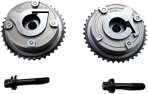 MOCA Timing Chain Kit with Camshaft VVT Sprockets for 2007-2013 Mini Cooper /& 2013 Mini Cooper Paceman 1.6L L4 DOHC