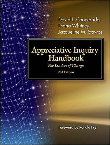 the change h andbook c68 cooperrider david l whitney diana