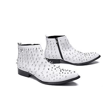Mr.Zhangs Art Home Mens shoes Botas de Invierno de los ...