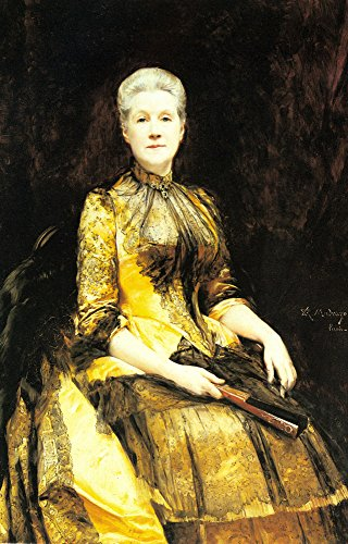 Madrazo Raimundo A Portrait of Mrs James Leigh Coleman 100% Hand Painted Replica Oil Paintings 20X28 -