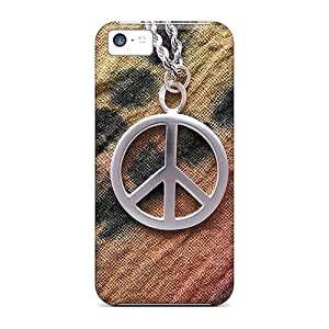 Estebanrivera-7 Design High Quality A Small Peace Sign Cover Case With Excellent Style For Iphone 5c