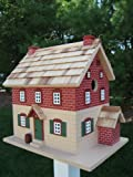 Home Bazaar HB-9039 Historic Reproductions Winkler Bakery Bird House in Brown Br