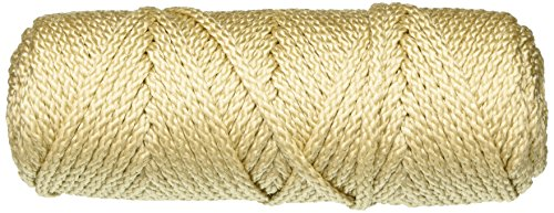 Price comparison product image Bonnie Macrame Craft Cord 4mmX50yd, Pearl Beige