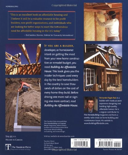 Building an Affordable House: Trade Secrets to High-Value, Low-Cost