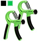 Synergee Hand Gripper - The Best Hand Exerciser Grip Strengthener Adjustable Resistance Range 22 to 88 Lbs