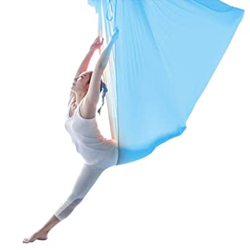 Amazon.com: Sandbags Aerial Yoga Hammock with Strap Anti ...