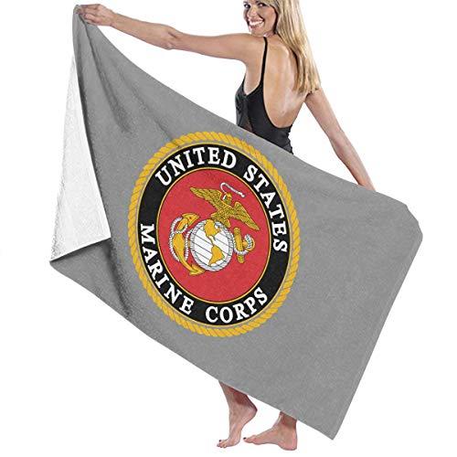 Kurabam Bath Towels Marine Corps Baby Large Soft Bed Beach Towel Sheet Bath Set Bathroom Accessories