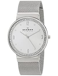 Skagen Women's SKW2152 Ancher Crystal-Accented Stainless Steel Watch