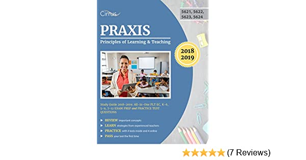 Amazoncom Praxis Principles Of Learning And Teaching Study Guide