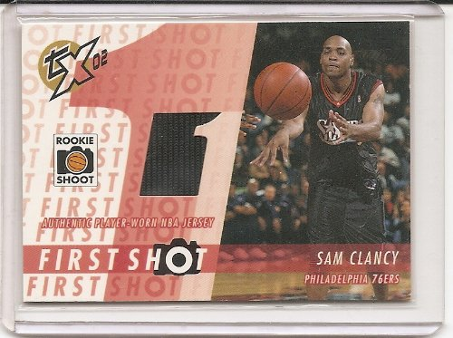 Sam Clancy 2002-03 Topps Xpectations First Shot Relics Jersey Insert Card #FS-SC ()