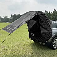 YSISLY Car Sun Canopy Tent, Car Awning Sun Shelter with Gauze Window, Sun Protection Waterproof Camper Auto Ca