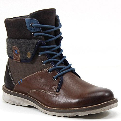 Testosterone Uomo Asso Race Boot Brown