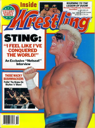 Inside Wrestling Magazine October 1990: Sting, the, used for sale  Delivered anywhere in USA