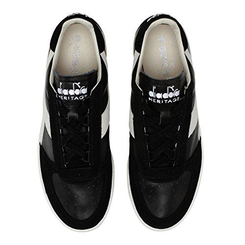 Diadora Heritage - Sneakers B.elite Sl Per Uomo E Donna 80013 - Nero