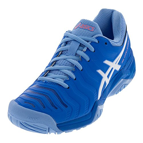ASICS Women's Gel-Challenger 11 Tennis Shoes, Blue/White, Size 10.5