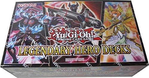 Yugioh Legendary Hero Decks Trading Card Game Toys Games