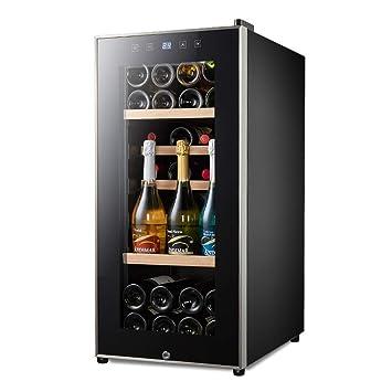 FREIHE Nevera para Vino, Refrigerador de Bebidas,Volumen 110L ...