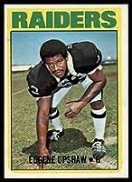 Football NFL 1972 Topps #186 Gene Upshaw NM Near Mint RC Rookie Raiders