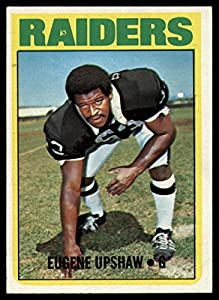 Football NFL 1972 Topps #186 Gene Upshaw NM Near Mint RC Rookie Raiders