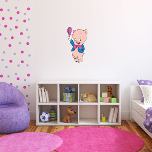 Porky Pig Looney Tunes Wall Graphic Decal Sticker 25