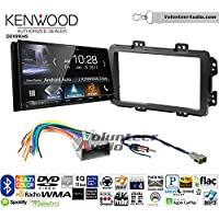 Volunteer Audio Kenwood DDX9904S Double Din Radio Install Kit with Apple CarPlay Android Auto Bluetooth Fits 2013-2014 Honda Civic (With Factory Nav)