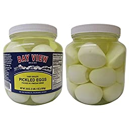 Bay View Pickled Eggs, 2 Jars