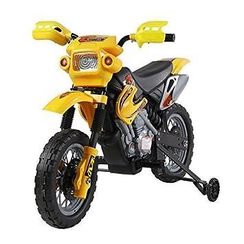 Moto Electrica Infantil Bateria Recargable Niño 3 Años Cargador 2 Ruedas 2.5KM/h