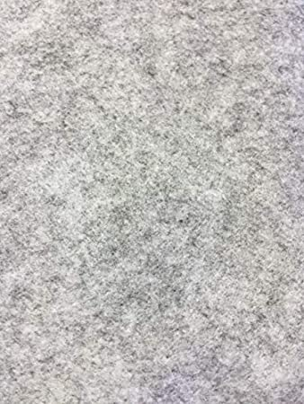 Telas fieltro anchura 90 cm, color gris claro melange China ratón AU Metre Deco Loisirs Creatifs alfombra: Amazon.es: Hogar