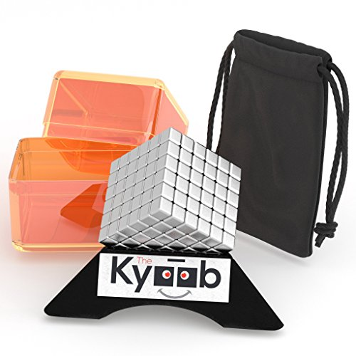 Magnetic Stress Cube Puzzle Educational Stress Relief and Develop Intelligence 216 5mm Building Blocks for Adults School Home Office