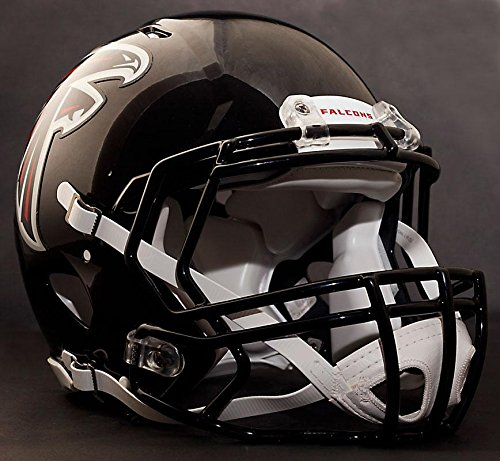 Riddell Speed ATLANTA FALCONS NFL AUTHENTIC Football Helmet with S2BD Football Helmet Facemask/Faceguard by Riddell