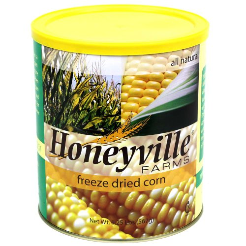 Freeze Dried Sweet Corn - 1.25 Pound Can