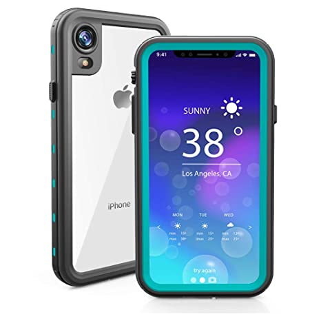 ChuWill Funda Impermeable iPhone XR, Carcasa iPhone XR, Certificado IP68 Antigolpes Sumergible Protección 360º Funda para iPhone XR (6.1 Inch) - Azul