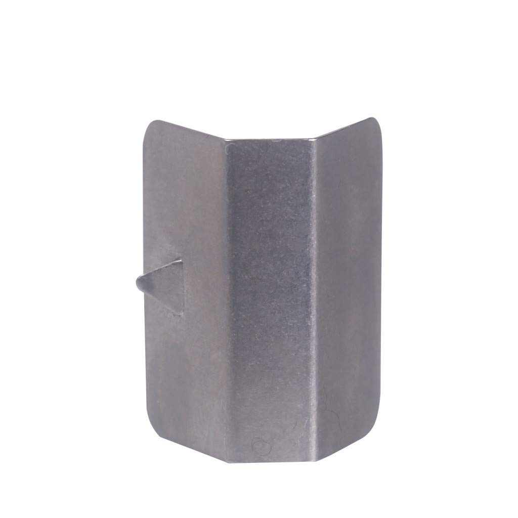 vmree 4PCS Car Wind Rain Deflector Fitting Clips Replacement for Heko G3 (Sliver) by vmree (Image #4)