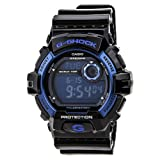 Casio Mens G8900A-1CR G-Shock Black and Blue Resin Digital Sport Watch