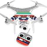 MightySkins Protective Vinyl Skin Decal for DJI Phantom 3 Standard Quadcopter Drone wrap cover sticker skins New Color