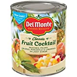 Del Monte, Fruit Cocktail, 106oz Can (Restaurant Size)
