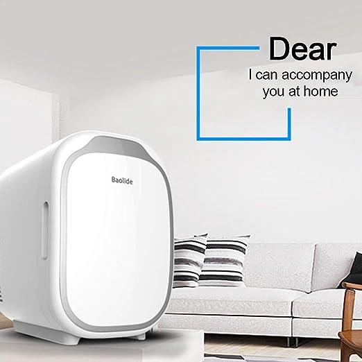 Motto.h - Mini frigorífico con congelador, 2 en 1, 6 litros, Mini ...