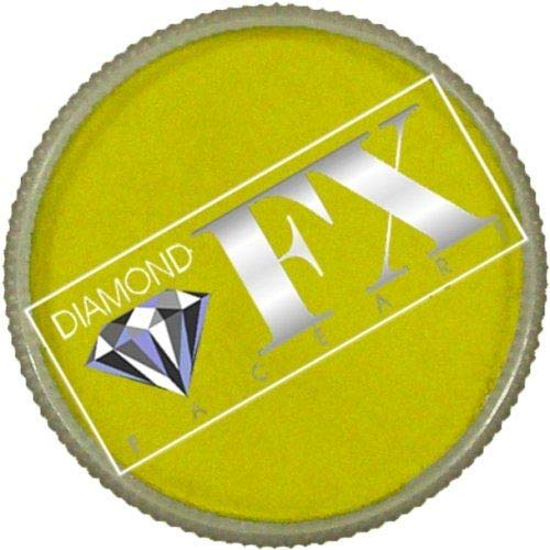 Diamond FX Metallic Face Paint - Yellow (30 -