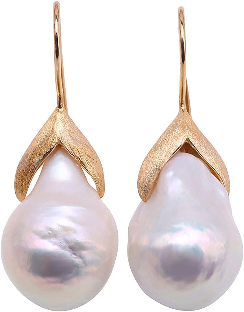 JYX Pearl Earrings Sterling...