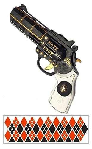 Affect Shop Cosplay Props Gun Choker Belt Bracelet Holster (gun 1)]()
