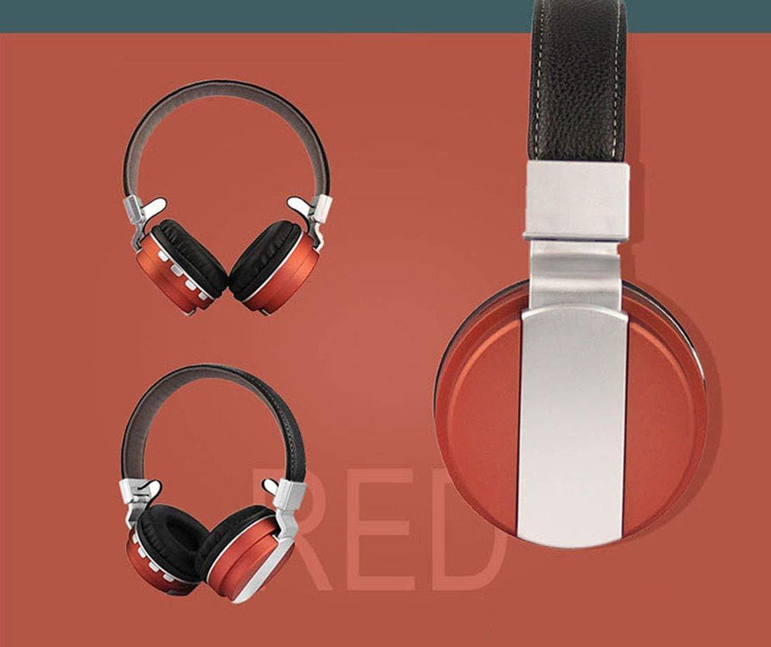 BT-008 Auriculares Plegables inalámbricos Bluetooth ...