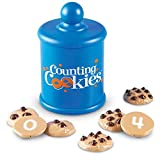 Learning Resources Smart Counting Cookies, Toddlers Learn to Recognize, Count, and Compare Numbers, 13 Pieces, Ages 2+