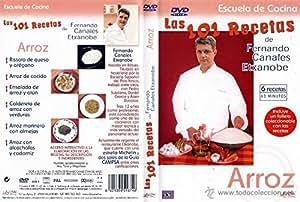 Las 101 Recetas de Fernando Canales Etxanobe: Arroz [DVD]