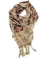 Paskmlna® Reversible Paisley Pashmina Shawl Wrap Elegant Colors