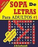 Sopa De Letras En Español Letra Grande Para Adultos y