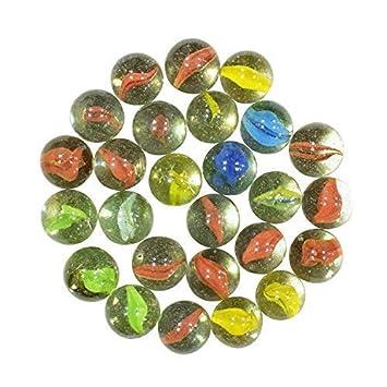 Buy Saudeep India Decorative Colourful Glass Marble Balls For