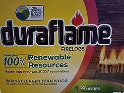 Natural Duraflame Fire Logs 6 Lb - Case ...