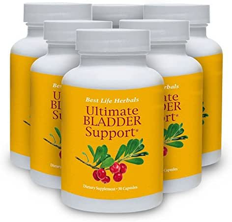 Ultimate Bladder Support - Dietary Supplement - 1 Bottle Supply - Restore Your Freedom and Confidence for Good